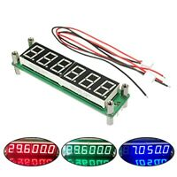 3 Colors Digital Signal Frequency Counter Swing Frequency Tester PLJ-6LED-H