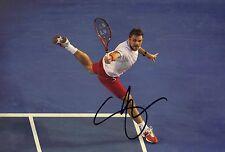 Stan Wawrinka Signed 12X8 Photo 2014 Australian Open Champion AFTAL COA (F)