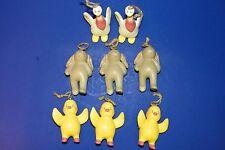 8 Russ Bonnie Lynn Easter Tree Ornaments Peeps Geese w Bandana's Bunny Rabbits