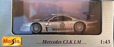 37- Mercedes CLK-LM - MAISTO - 1:43- Neuf dans boite d'origine
