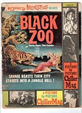 WoW! Horror Monsters Presents BLACK ZOO A Picture by Picture Mag! Rare One-Shot!