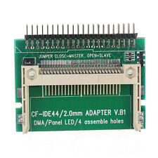 New CF to 44 Pin IDE HDD Hard Disk Drive Adapter Converter for Notebook PC