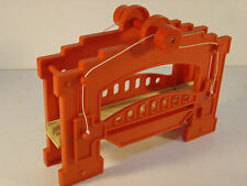 Wooden Circo Draw Bridge Compatible w Thomas & Brio Wooden Engines Red used