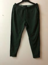 NEW ABERCROMBIE & FITCH Men's Green Ankle Zip ACTIVE JOGGERS Pant--XL SIZE