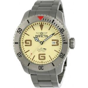Invicta 23124 Pro Diver Automatic Military Titanium Bracelet Date Men's Watch