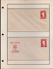 Philippines Postal Envelope + Postcard collection 12 different 1946 - 1972