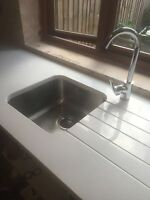 super White marble and granite and quartz kitchen  worktops ,supply and fitting