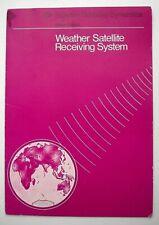Vintage Hawker Siddeley Dynamics Space Division Weather Satellite Brochure c1970
