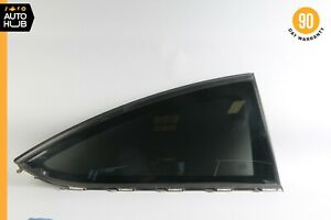 12-14 Mercedes W204 C250 C350 Coupe Rear Right Side Quarter Window Glass OEM