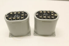 Vintage Pair of Western Electric 111C Transformers  repeatng coil toroidal