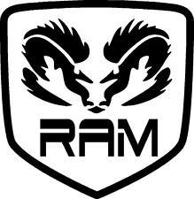 DODGE RAM HEAD badge vinyl decal sticker Dodger