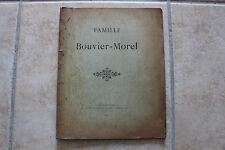 SAINT-ETIENNE - Généalogie - recherches Famille BOUVIER-MOREL, 1914