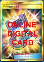 1X Pokegear 3.0 233/214 Unbroken Bonds SR Pokemon TCG Online Digital Card