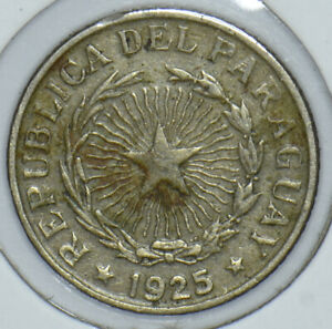 Paraguay 1925 50 Centavos 190855 combine shipping