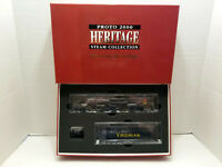Life-Like Proto 2000 113' VGN Steam Locomotive - Black/Yellow 23344 - DCC Ready