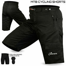 Polyester Cycling Shorts with High Visibility
