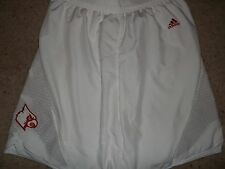 Louisville Cardinals Basketball Chane Behanan 2013 Game Used White Out Shorts
