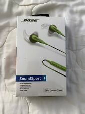 BOSE SoundSport Earbuds - For iPod iPhone iPad BRAND NEW MIB-WIRED- ENERGY GREEN