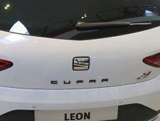 SEAT Leon Ibiza Cupra Schriftzug Emblem badge schwarz black ORIGINAL