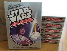 STAR WARS JEDI ARENA  -  ATARI 2600 Video Game System FRESH CASE - BRAND NEW