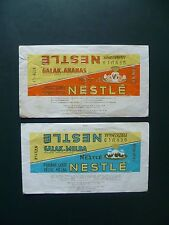 Wikkels  Chocolade Nestlé chocolat- omslagen - emballages - wrappers chocolate
