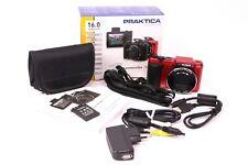 "Praktica Luxmedia 16-Z24S Digitalkamera Rot 16.0 MP 3,0"" 7,6cm TFT SD/SDHC/SDXC"