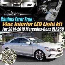14Pc Error Free White Interior LED Light Kit for 2014-2019 Mercedes-Benz CLA250