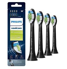 Philips Sonicare DiamondClean Toothbrush Head, 4 Pack, Black, HX6064/95
