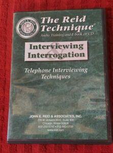 The Reid Technique® Collection: Study Manuals, CDs, Publications
