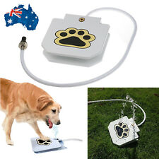 New step spray dog cat pet paw pedal water feeder fountain drinking Auto Tool AU