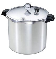 Presto Brushed Aluminum Pressure Cooker and Canner 23 qt