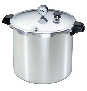 Presto Brushed Aluminum Pressure Cooker and Canner 23 qt