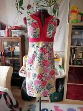 Stunning BODEN Notch Neck Shift Dress UK Size 6 R *NEW* Pink Peonies 6R RARE