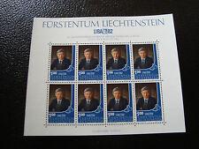 LIECHTENSTEIN - timbre/stamp Yvert et Tellier n° 738 x8 n** (Z2)
