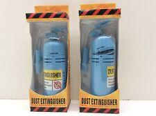 2 - Dust Extinguisher Mini Desktop Computer Cleaner Vacuum Blue