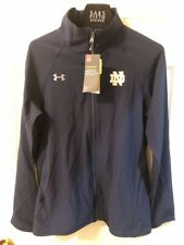 UNDER ARMOUR ALL SEASON GEAR NAVY ATHLETIC JACKET WOMENS Small ND SEMI-FITTED