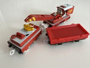 Tomy Trackmaster Thomas The Tank Engine Train Rocky Battery Operated