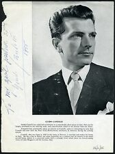 Guido CANTELLI (Conductor): Signed Program Photograph