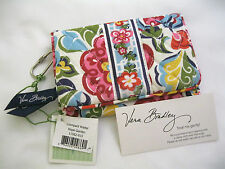 Vera Bradley HOPE GARDEN TAXI Compact ONE for the MONEY WALLET 4 PURSE Tote  NWT