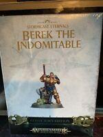Warhammer Age of Sigmar Berek The Indomitable Stormcast Eternals OOP Rare Ltd Ed