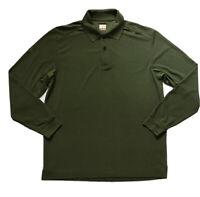 Callaway Sz Medium Green C-Tech Moisture Wicking Polo Shirt Purple L/S EUC