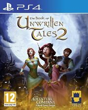 The Book of Unwritten Tales 2 (Playstation 4) NEW & Sealed - Despatched from UK