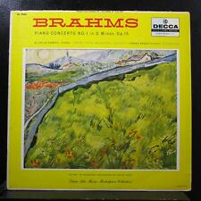 Brahms, Kempff, Konwitschny - Piano Concerto No 1 In Dm LP VG DL 9945 Mono Vinyl