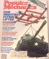 Popular Mechanics Magazine Flying  Lifters  September 1982 073117nonrh