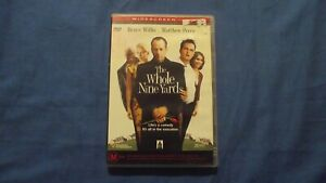 The Whole Nine Yards Bruce Willis Matthew Perry - DVD - R4 - Free Postage