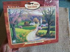 "Randy Van Beek Art - Artist Series ""April Morning"" Puzzle 750 Pieces Preowned"