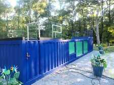 Shipping Container Swimming Pool With Dressing Room 38ft