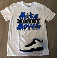Effectus Clothing Tee to match Jordan Retro 10 Orlando. Money Moves Tee