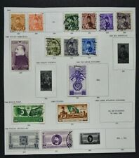 EGYPT, a collection on 3 album pages, mainly used condition.