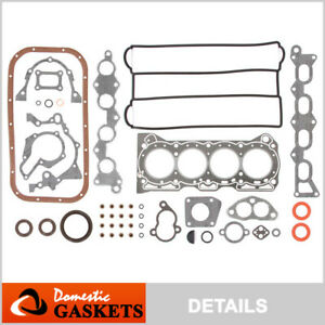 Fits 89-94 Suzuki Swift 1.3L DOHC Full Gasket Set G13B